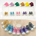 free shipping Mixed color Fashion 12 inches 3.5cm Doll Shoes For 1/6 Scale Tangkou Dolls BJD Doll Accessories