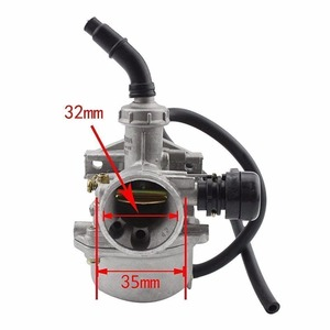 Image 3 - GOOFIT PZ19 Carburetor with Air Filter for Chinese 50cc 70cc 90cc 110cc 125cc ATV Scooter Dirt Bike Group 101
