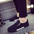 brand designer men canvas shoes slip on casual shoes plimsolls thick soled flat shoes espadrilles masculino esportivo XK120905