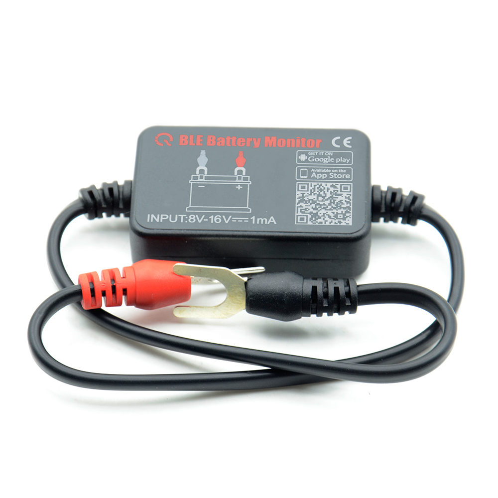 Domilay Battery Monitor BM2 on Phone APP 4.0 Device All Car 6-20V Battery Tester
