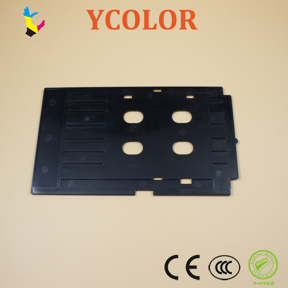 Printer Supplies Ink Way 25pcs Pvc Id Card Tray For R260 R265 R270 R280 R290 R380 R390 Rx680 T50 T60 A50 P50 L800 L801 R330