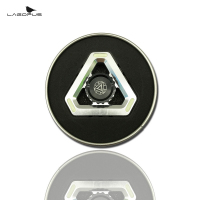 Lagopus Luminous Triangle Metal EDC Hand Spinner Metal Finger Stress Spinner Stress Wheel Finger Spinner Hand