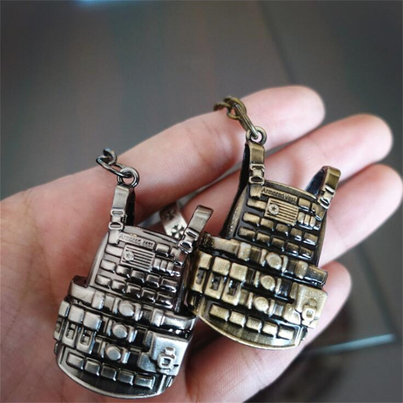 Costumes & Accessories Game Pubg Playerunknowns Battlegrounds Cosplay Props Alloy Level 3 Vest Military Body Armor Model Key Chain Keychain Novelty & Special Use