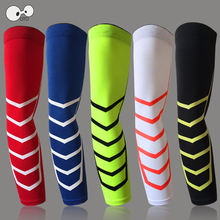 1Pc Men Women Anti-UV Antiskid Silicone Cuff Riding Cycling Arm Warmers Basketball Elbow Pads Sport Armband Running Arm Sleeves
