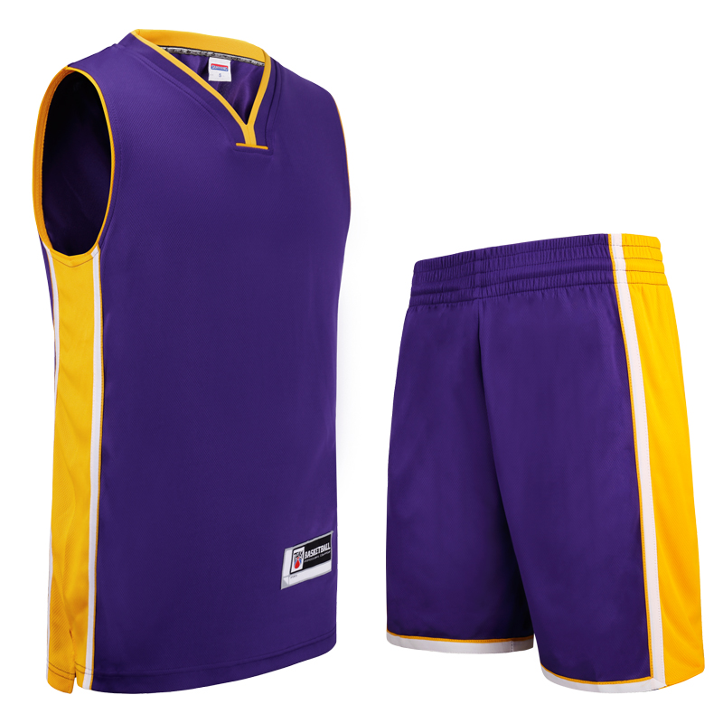 Mens Basketball Jersey Sets Mens Competition Uniforms Suit Quick-Dry Custom Basketball Jerseys 305AB-1