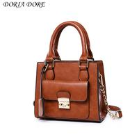 Arrival Doria Dore Envelope Polyester Totes Handbags Crossbody Bags Single Vintage Women Solid Zipper SoftSac Bolso