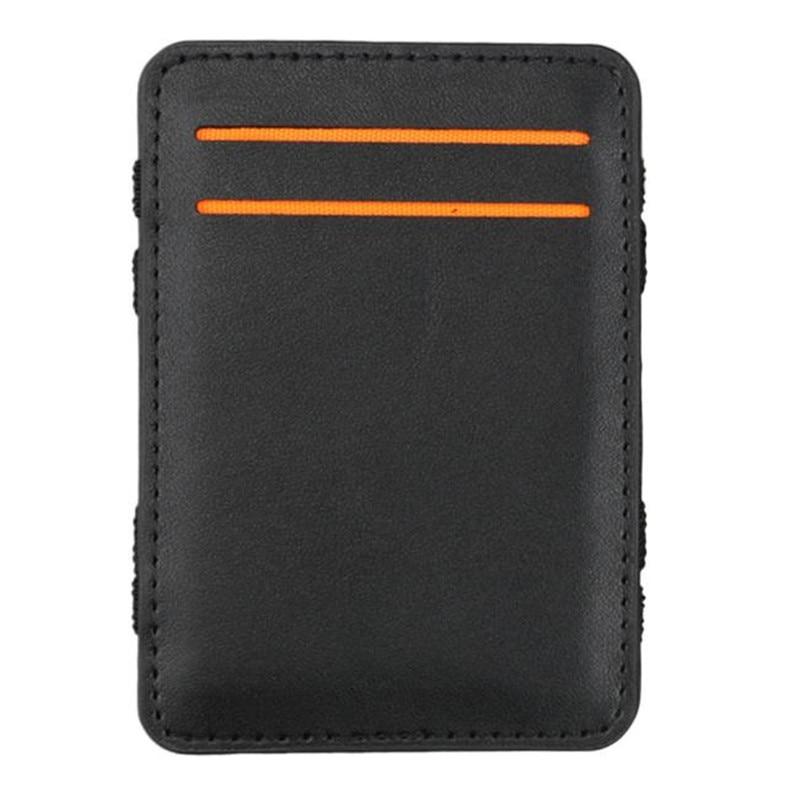 2017 Vintage Stil Hohe Qualität Pu Leder Magische Brieftasche Mode Herren Mini Multifunktionale Karte Halter Marke Magie Brieftaschen üBereinstimmung In Farbe