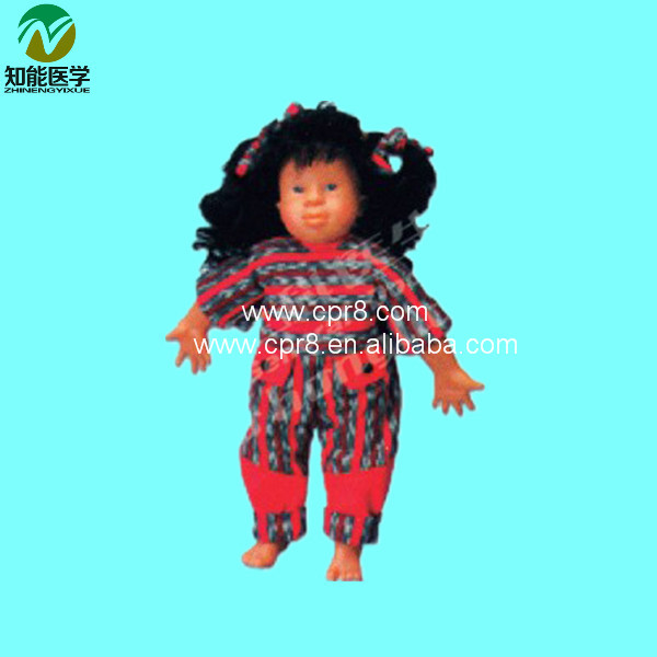 Advanced Down Syndrome Baby Nursing Model BIX-F135 WBW314 hormonal key players for obesity in children with down syndrome