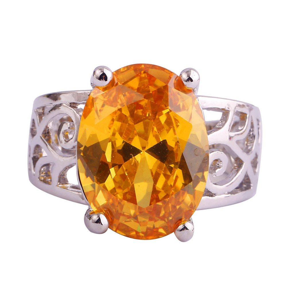 popular citrine mens rings buy cheap citrine mens rings