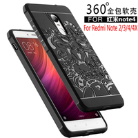 For Xiaomi Redmi Note 4 4X 2 3 Case Luxury Silicone Hard Protective Back Cover Cases