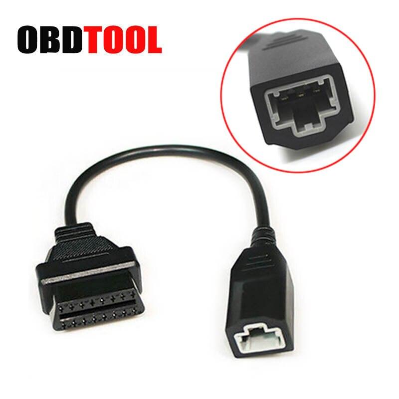 3 Pin OBD OBD1 to 16 Pin OBD2 OBDII Diagnostic Connector Adapter Cable for Honda