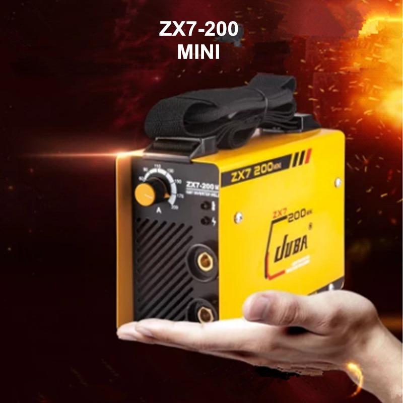 Mini 220V Inverter AC Arc Welding Machine zx7 200 MMA W elder for Soldering Welding Working and Electric Working