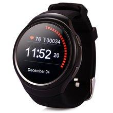 Heißer verkauf! 2016 Smart Uhr 3G K9 mit Android 4.4 WCDMA WiFi GPS SIM Musik SmartWatch für iOS Android Pulsmesser Freier Sh