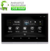 10,1 дюймов 2 din Android 6,0 четырехъядерный Автомобильный подголовник заднего сиденья монитор HD Wifi ИК HDMI USB/CD/FM Автомобильный задний подголовник мо