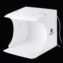 PULUZ Foldable Design Mini Small Size LED Photography Studio Box Waterproof Soft Lamp Box for SLR Cameras