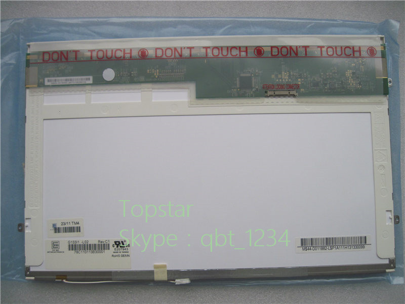Original Well Tested 13.3'' LCD Screen G133I1-L02  CHIMEI  Innolux  LCD Screen Display Panel