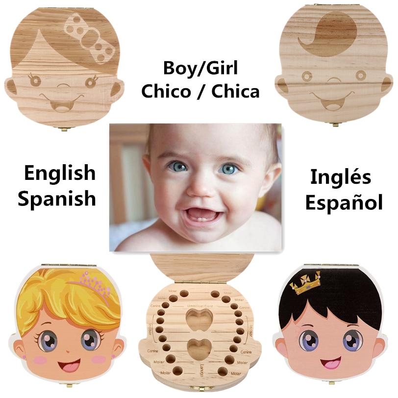 Αγγλικά / Ισπανικά Γλώσσα Ξύλο Οδοντίατρος Δίσκος Δερμάτινα Δόντια Συλλογή Δόντια Δώρα Ομφάλιου Λανουγκό D13