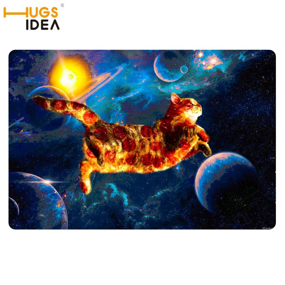 Us 1299 35 Di Scontohugsidea Spazio Galaxy Nuvole Colorate Disegno Carpet Per Soggiorno Pizza Gatto Tumblr Porta Tappetini Per Il Bagno Freddo