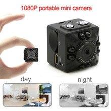 Shzons 1080P HD Mini DV камера портативная мини видеокамера с ИК ночного видения и обнаружения движения камера видеонаблюдения