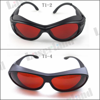 190 540nm UV Blue Green Laser Protective Goggles Safety Glasses CE OD4 OD5