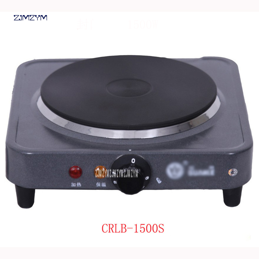 CRLB-1500SMini Electric Stove Hot Plate Cooking Plate Multifunction Coffee Tea Heater Home Appliance Hot Plates for Kitchen 220V stainless steel electric double ceramic stove hot plate heater multi cooking cooker appliances for kitchen 220 240v vde plug