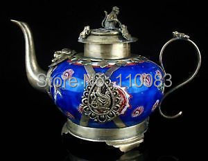Vintage Handwork Teapot For Chinese Oriental Religious