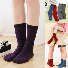 1 Pair Chic Women Ladies Shiny Glitter Novelty Socks Ankle Casual Bright Retro Sox Piles Sock Needles Knit
