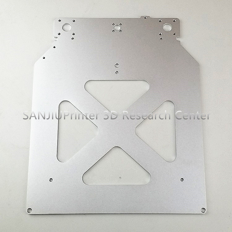 Ultimaker 2+ UM2 Extended 3D Printer Parts Z Table Aluminum Heated Hot Bed Plate Wholesale Price ultimaker 2 go master 3 d printer diy aluminum alloy build platform kit print table base plate print table bed glass plate set