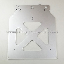 Ultimaker 2 + UM2 Erweiterte 3D Drucker Teile Z Tisch Aluminium Beheizt Heißer Bett Platte Großhandel Preis