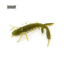 Kingdom soft lures 100mm 3.25g 6pcs/bag  5 color available model 3810