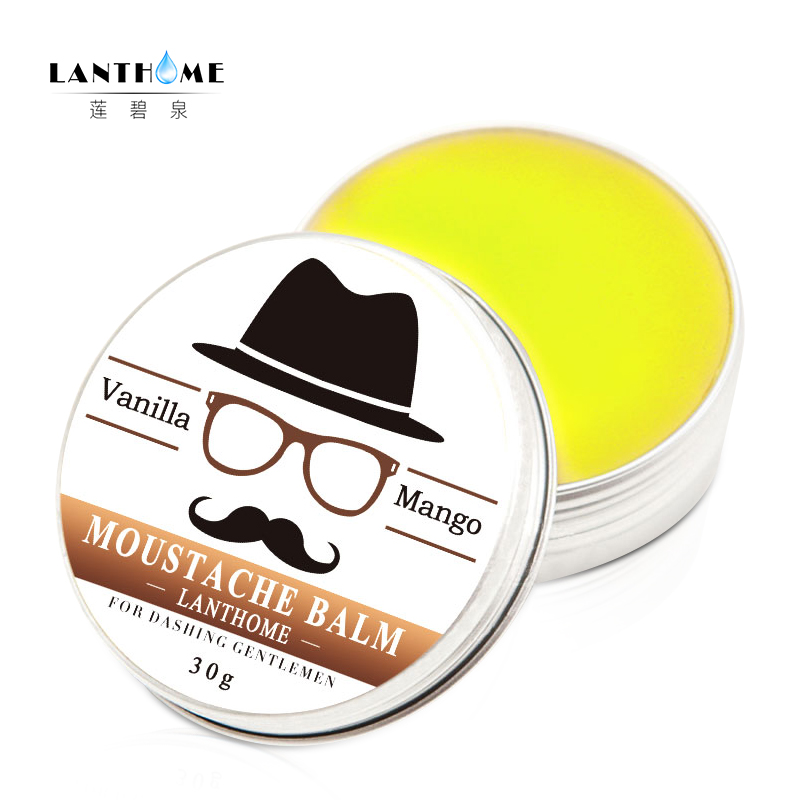 Organic Beard and Moustache Grooming Kit Beard Oil Men Facial Hair Care Moustache Wax Beard Gift Set Styling Moisturizing Barbe 4
