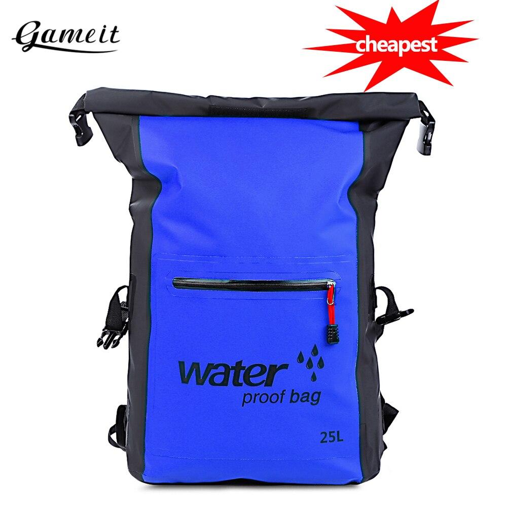 2pcs Waterproof Dry Bag Outdoor Sports Swimming Rafting Kayaking Boating 2L