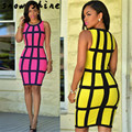 snowshine #3001  Sexy Women Dress Bandage Sleeveless Bodycon Party Dresses free shipping