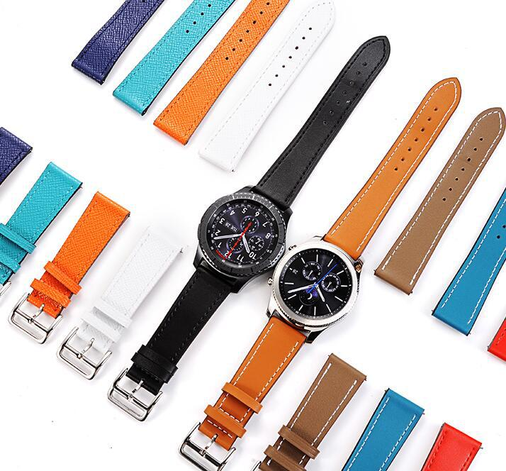 22mm Single Tour watch band strap for Samsung Gear S3 Classic Frontier with Quick Realease Pin watchbands смарт часы samsung gear s2 black