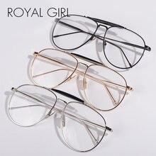 Женские и мужские оправы для очков винтажные простые очки с