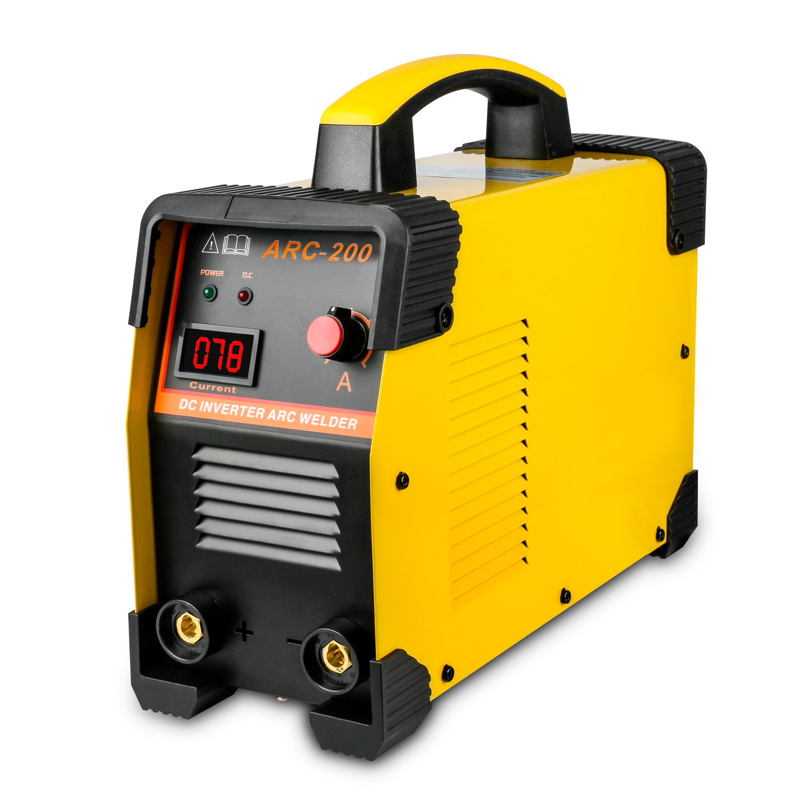 Arc-200 Inverter Welder IGBT 30-160A Handheld Intelligent MMA Welding Machine Kit 220V/110v EU Plug стоимость