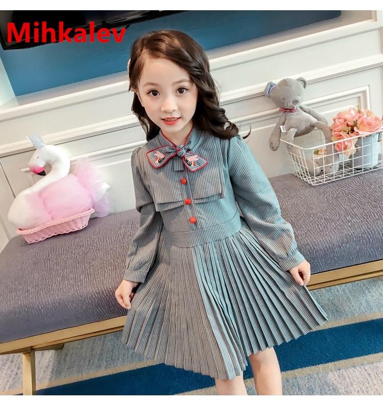 5109866bad301f6 Mihkalev/весенне-летние платья для девочек 2019 г. Детские платья ...