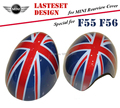 High Quality Car Side Rearview Mirror Covers Decorations Union Jack JCW Car Accessories for 2014 MINI Cooper F55 F56 Car-styling