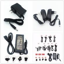 цена DC 5V 12V 24V Lighting Transformers 1A / 2A / 3A / 5A / 6A / 8A / 10A Power Supply Adapter For LED Strip в интернет-магазинах