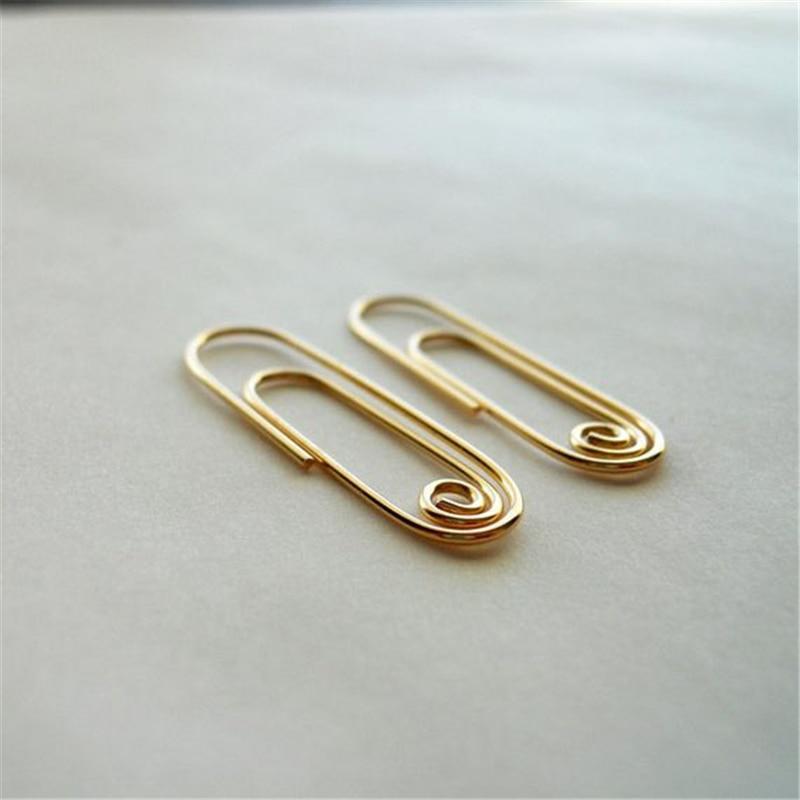 Купить геометрические серьги ювелирное изделие ручной работы позолота/серебро