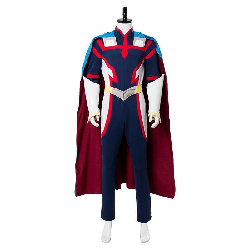 My Hero Academia All Might  Cosplay Costume Jumpsuit Bodysuit Men's Cosplay