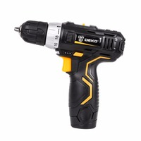 12V DC Household DIY Lithium Battery Cordless Drill/Driver Power Drill Tool Electric Drill Woodworking Power Tools For Woman