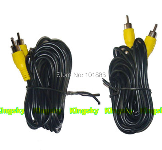 "24V Reversing parking Backup Camera 18 IR LED x 2+ 7"" LCD Monitor Car Rear View reverse Kit + 2 X 20m CABLE"