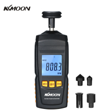 Digital Handheld Tachometer Contact Motor LCD Speedometer Tach RPM  ester Electrical Machine Rotate Speed Meter