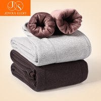 JOYOUS LUCKY Thermal Underwear For Men Thermos Pants Male Wool Cotton Thicken Underwear Trousers Men S