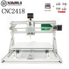 CNC 2418 GRBL DIY CNC machine,work area 24x18x4.5cm,3 Axis Pcb Milling cnc Machine Wood router Carving Pvc Mill Engraver