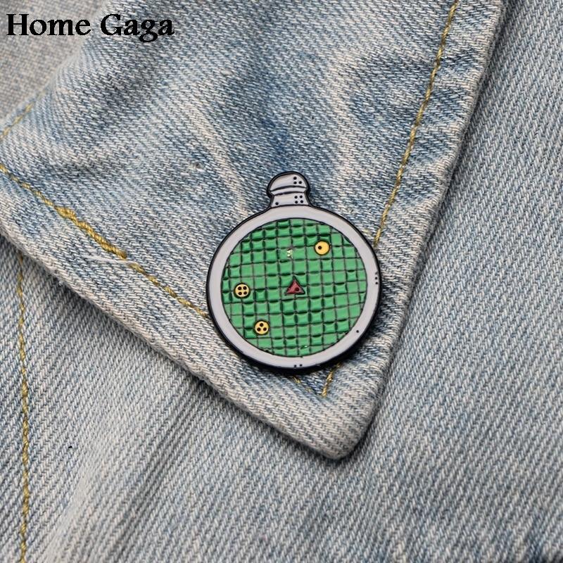 Intellective 10pcs/lot Homegaga Dragon Ball Zinc Alloy Tie Pins Badges Para Shirt Bag Clothes Backpack Shoes Brooches Badge Decorations D1416 Home & Garden