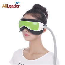 купить Alileader Eye Protection Device Eye Massager Air Pressure Glasses Music Wireless Eye Instrument Rubing Vibration Infrared Heater недорого