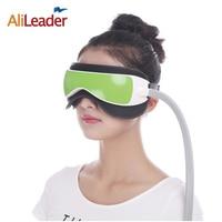 Alileader Eye Protection Device Eye Massager Air Pressure Glasses Music Wireless Eye Instrument Rubing Vibration Infrared Heater