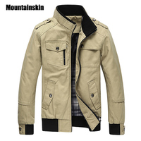 2015 New Arrival Winter Jacket Men Casual Cotton Stand Collar Coats Army Military Jackets Outdoor Slim